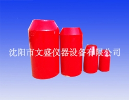 Polyurethane foam cleaning device